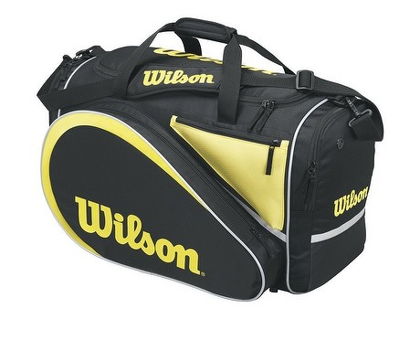 Wilson All Gear Bag (Black/Yellow)